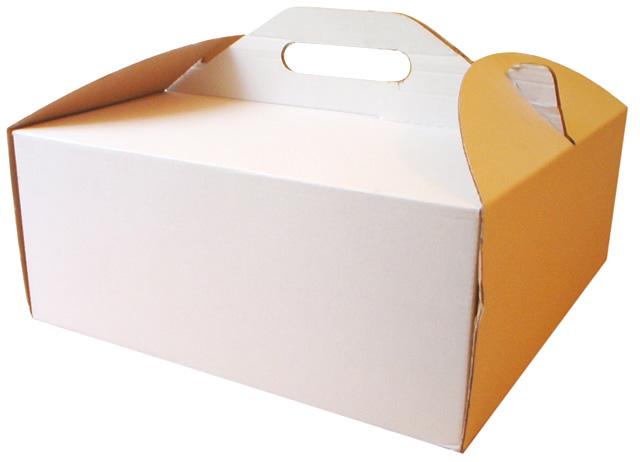 коробки для пирога с окном
